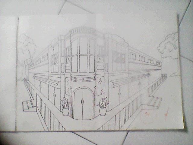Galeri Pen&akan Perspektif Eksterior 2 Titik Hilang & Perspektif Eksterior 2 Titik Hilang \u2013 RumahMinimalisManja