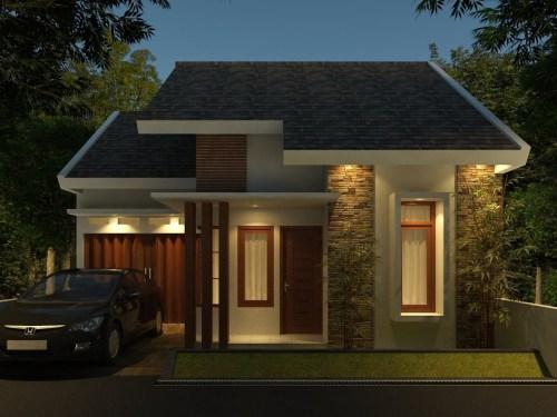 Desain Rumah Minimalis 3 Kamar Tidur 1 Lantai Rumahminimalismanja