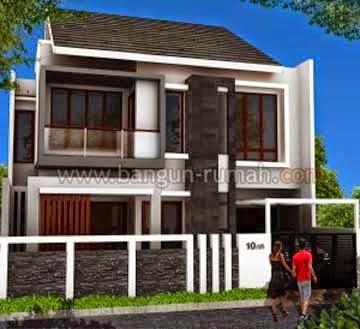 Desain Rumah Minimalis 2 Lantai Lebar 6 Meter Rumahminimalismanja