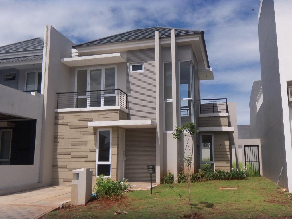 Rumah Minimalis Lantai Dua Modern – RumahMinimalisManja