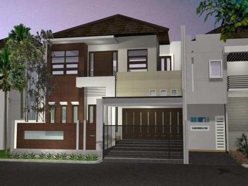 Desain Rumah Minimalis 2 Lantai Ukuran Kecil Rumahminimalismanja Modern Gambar
