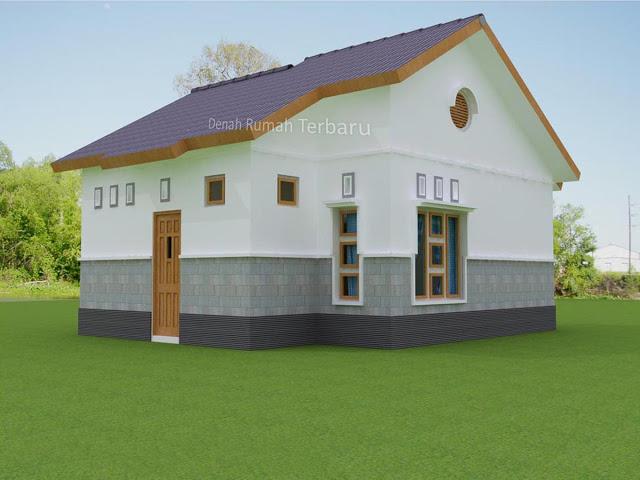 Desain Eksterior Rumah Minimalis Type 36 Belakang Kanan & Gambar Rumah \u2013 RumahMinimalisManja