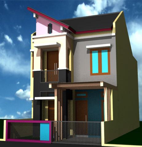 Foto Rumah Minimalis Satu Lantai Tampak Depan Rumahminimalismanja