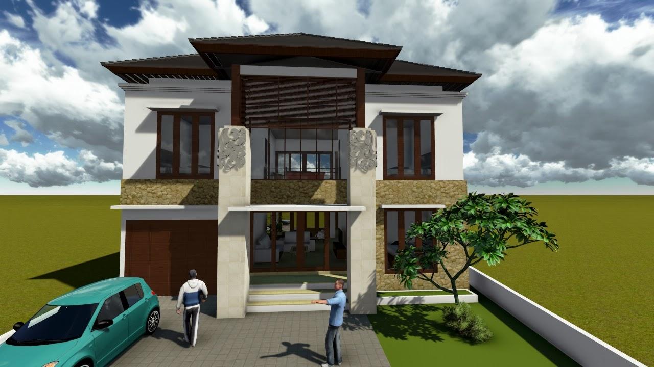 Contoh Rumah Minimalis 2 Lantai Terbaru RumahMinimalisManja